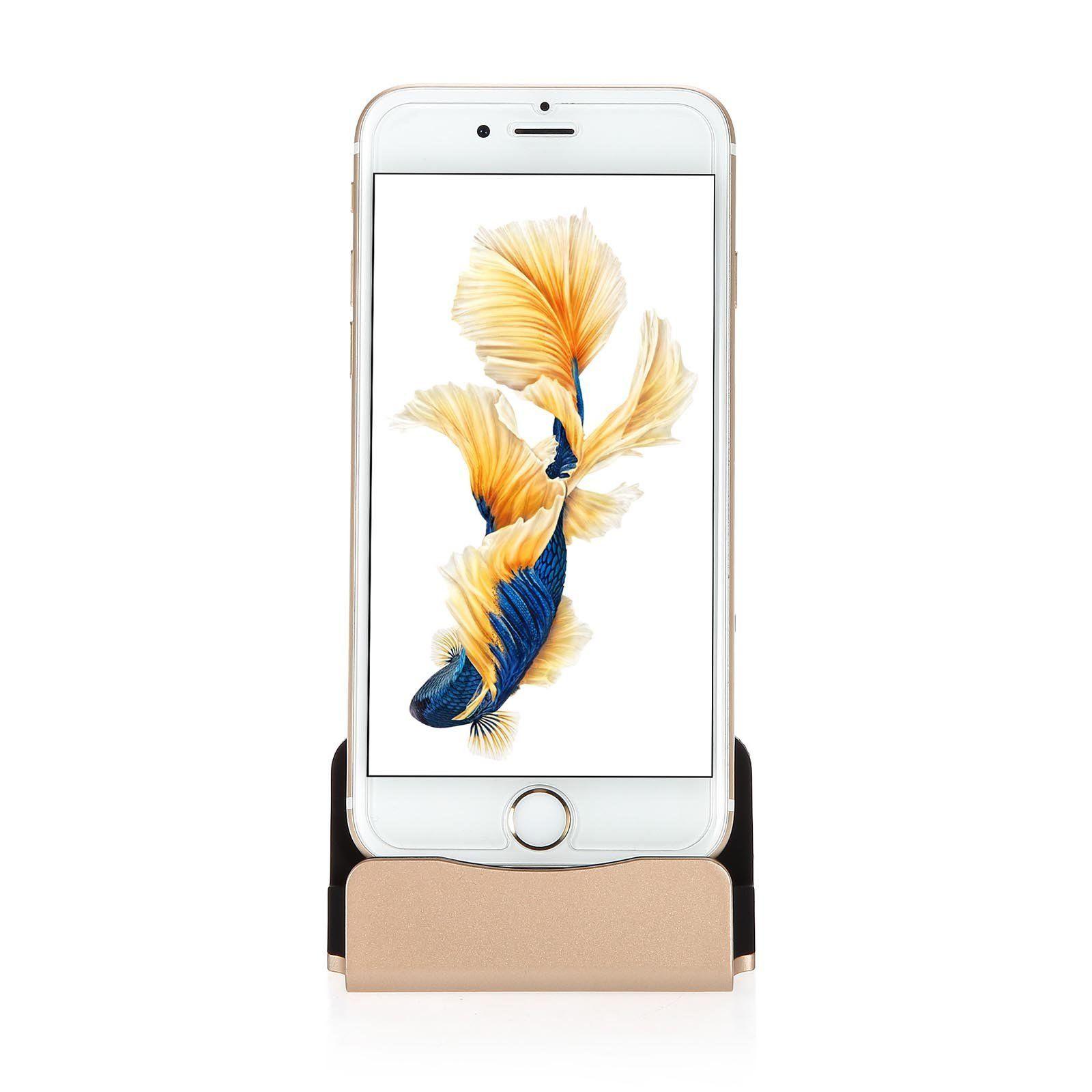แท่นชาร์จ สำหรับไอโฟน สีทอง