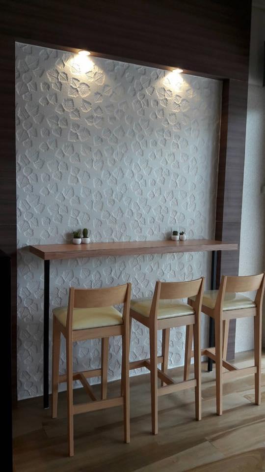 เก้าอี้บาร์ ดีไซน์สวย สไตล์ญี่ปุ่น (Trophy Bar Stool)