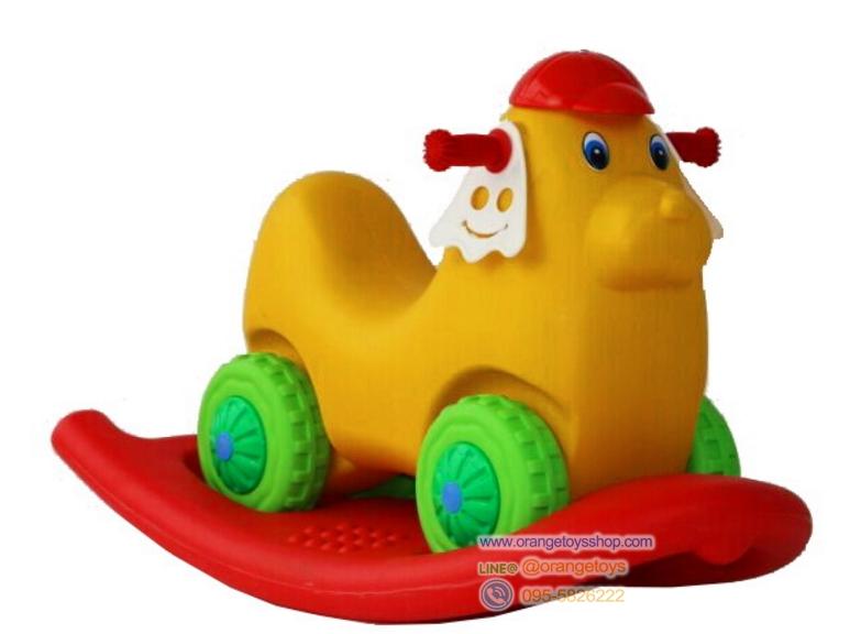 โยกเยกรถหมา 2 in 1 Plastic Toys - Cars & Ride-ons