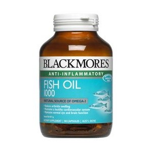 Blackmores Fish Oil 1000 (80 capsules)