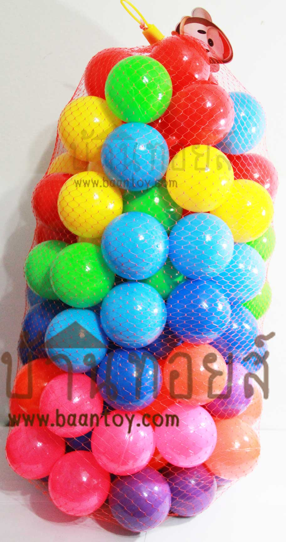ลูกบอลสี 100 ลูก (ใส่บ้านบอล)
