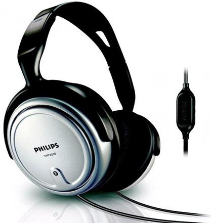 หูฟังครอบหู PHILIP HEAD PHONE รุ่น HP-2500 สายยาว 6 เมตร