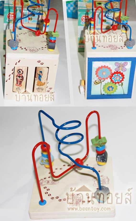 ของเล่นเสริมพัฒนาการ,ของเล่นไม้, กล่องกิจกรรม