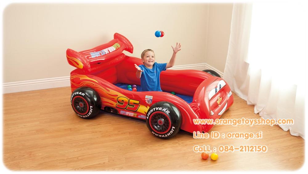 (บ้านบอลเด็ก) บ้านบอล ลายคาร์ Intex-48668NP
