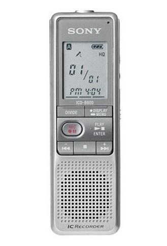 เครื่องบันทึกเสียงดิจิตอล โซนี่ sony digital recorder รุ่น ICD-B600