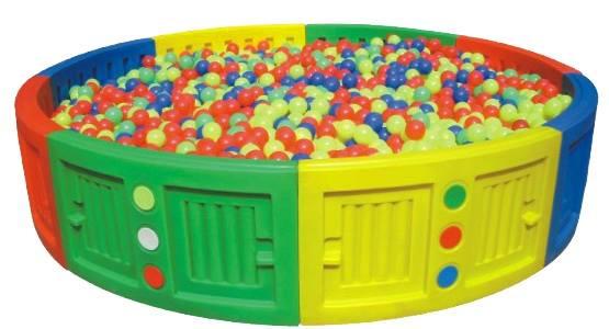 บ่อบอลวงกลม SIZE:275X275X58 cm.