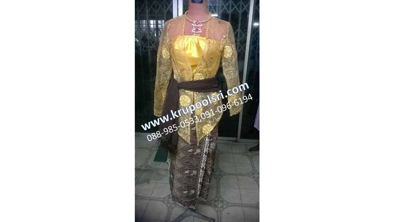 ชุดอินโดนีเซีย หญิง - 12