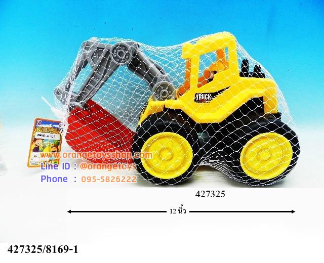 รถก่อสร้างชายหาดถุงตาข่าย ขนาดประมาณ 12-15 นิ้ว