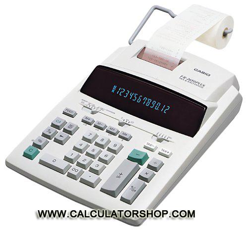 เครื่องคิดเลขพิมพ์กระดาษ ขนาดใหญ่ Casio รุ่น FR-2650T