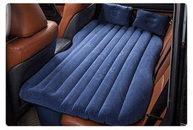 ที่นอนเป่าลม ในรถยนต์ สะดวกพกพา ***สินค้าพร้อมส่ง สีนำ้เงินเข้ม***