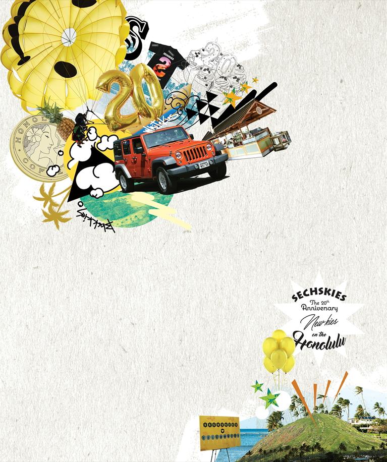 [Pre] SECHSKIES : THE 20TH ANNIVERSARY DVD –NEW KIES ON THE [HONOLULU]-