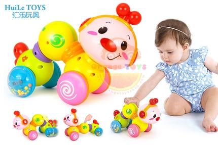 Huile Toys หนอนกระดึ๊บ Creeping Worm