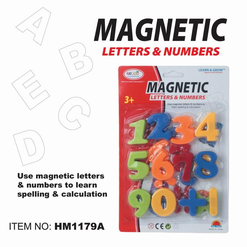 First Classroom - Magnetic ตัวแม่เหล็ก ตัวเลข ขนาด 2 inch Magnetic numbers Item.HM1179A