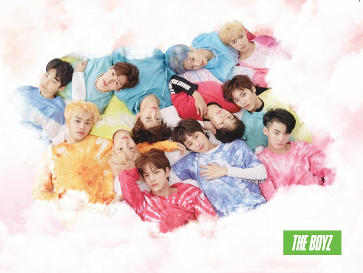 [Pre] THE BOYZ : 2nd Mini Album - THE START (B Ver.) +Poster