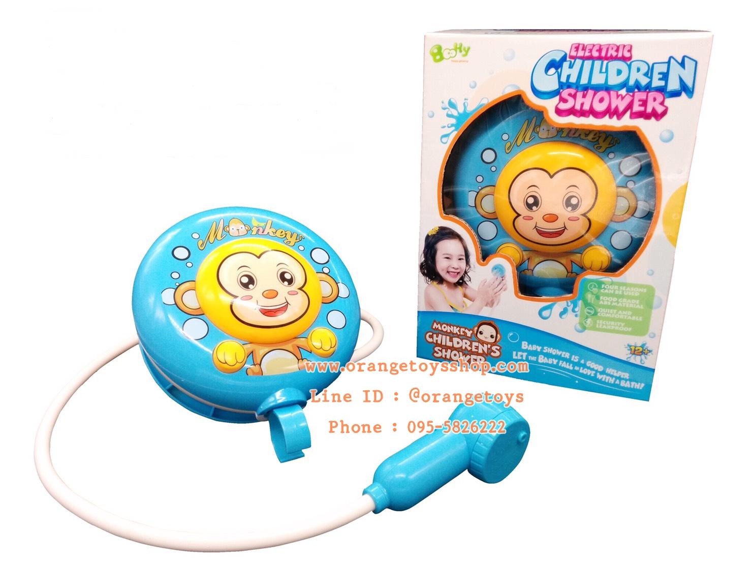 ของเล่นในน้ำ ฝักบัวอาบน้ำ สำหรับเด็ก ใส่ถ่าน 2A ของเล่นในห้องน้ำ