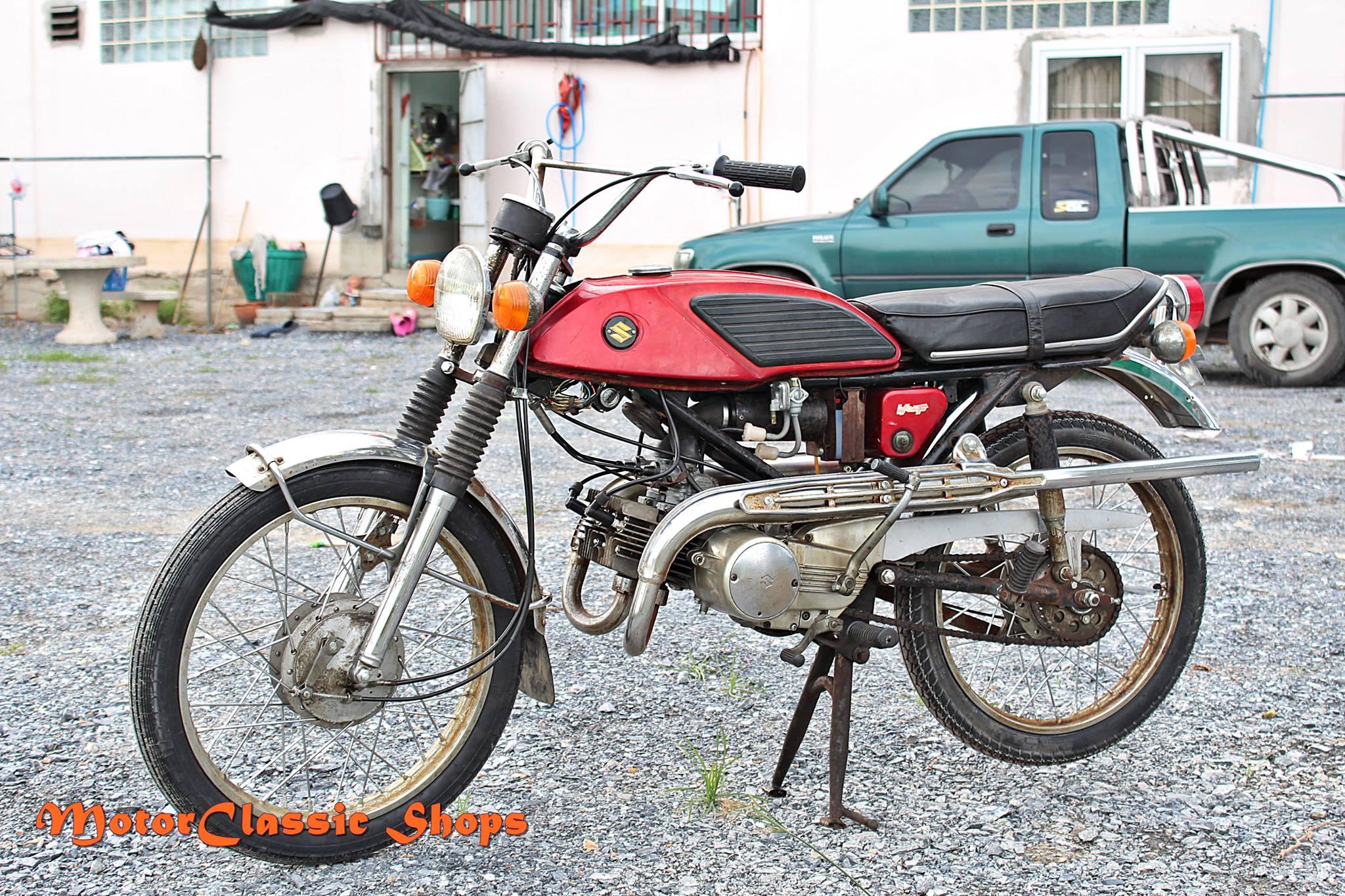 Suzuki Wolf T90 สีแดง คุณสกล