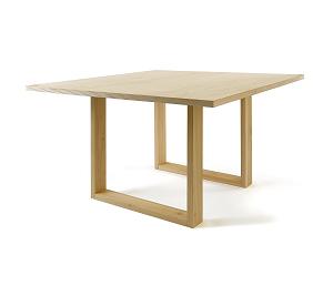 โต๊ะไม้จริง ดีไซน์ขาตัวยู คุณภาพส่งออก (PRE-ORDER)