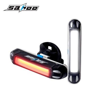 ไฟท้ายจักรยานชาร์ตUSB SAHOO 721028