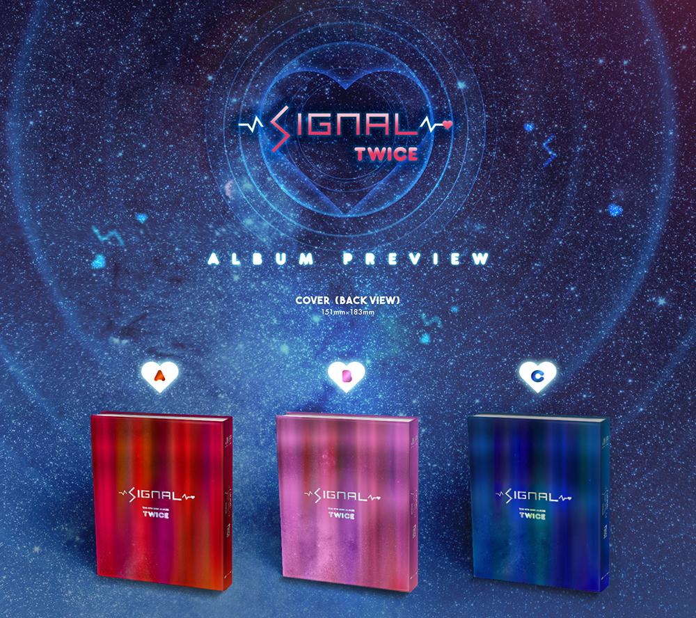 [Pre] TWICE : 4th Mini Album - SIGNAL (Random Ver.) +Poster