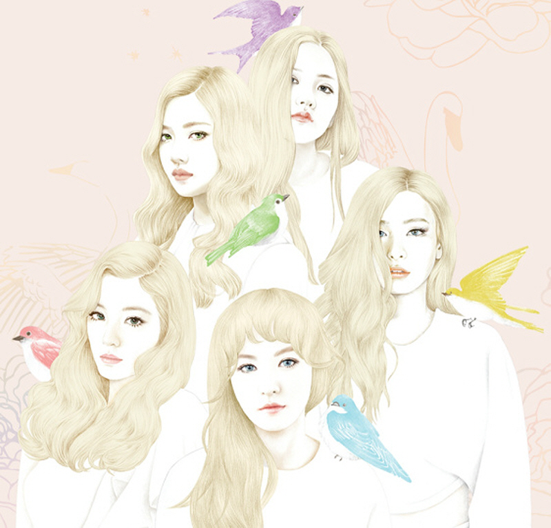 [Pre] Red Velvet : 1st Mini Album - Ice Cream Cake +Poster