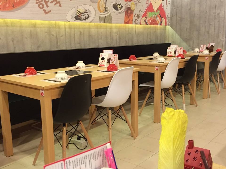 รับสั่งทำโต๊ะหม้อฝัง สำหรับร้านชาบู ร้านเกาหลี ปิ้งย่าง