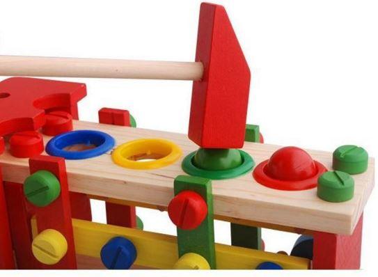 ของเล่นเสริมพัฒนาการของเล่นไม้รถวิศวะ