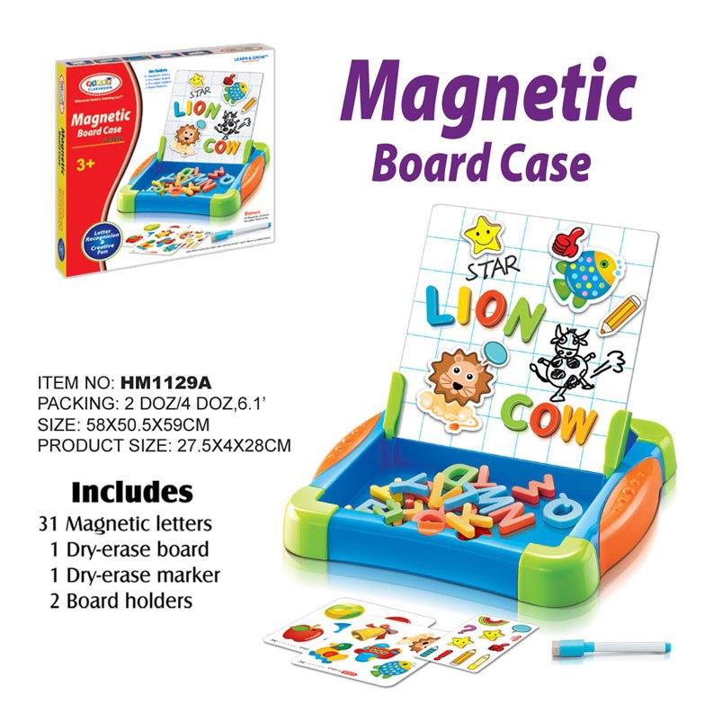 กระดานแม่เหล็ก First Classroom - Magnetic Board Case : Letters (HM1129A)