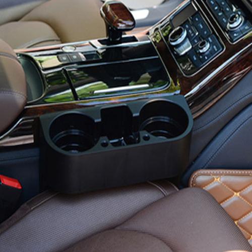ที่วางแก้วในรถ สีดำ ติดตั้งง่ายแข็งแรงทนทาน