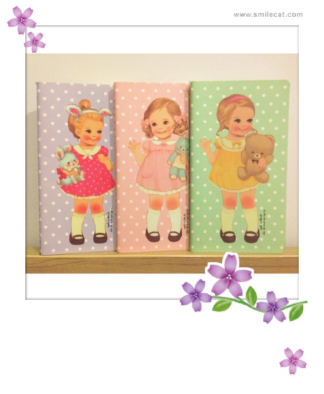Notebook Cute Paper Dollmate