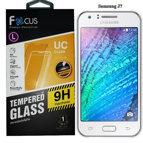 Focus โฟกัส ฟิล์มกระจกซัมซุง Samsung J7 2015 ซัมซุงเจ7