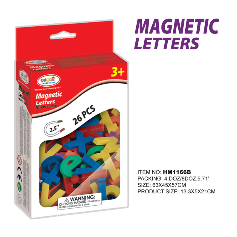 First Classroom - Magnetic ตัวอักษรแม่เหล็ก ตัวพิมพ์เล็ก