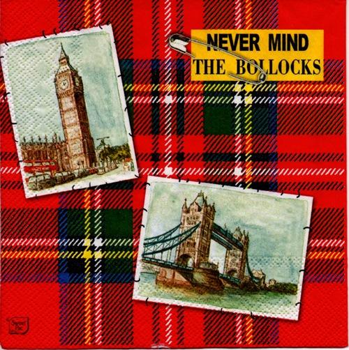 แนวภาพท่องเที่ยว ภาพโปสเตอร์หอนาฬิกา บิ๊กเบน สะพาน เมือง ลอนดอน ประเทศอังกฤษ เป็นภาพโทนสีแดง เป็นภาพแนวยาว กระดาษแนพกิ้นสำหรับทำงาน เดคูพาจ Decoupage Paper Napkins ขนาด 33X33cm