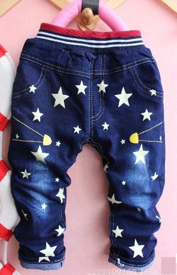 กางเกงยีนส์ดาว