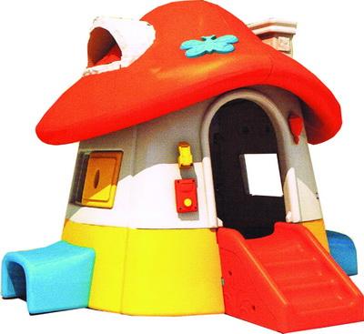 บ้านกระดานลื่นเห็ด SIZE:226X255X160 cm.