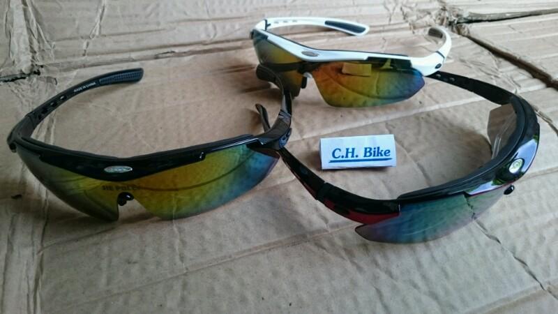 แว่นตาขี่จักรยานวิ่งออกกำลังกาย Jie Polly มีคลิปสายตา