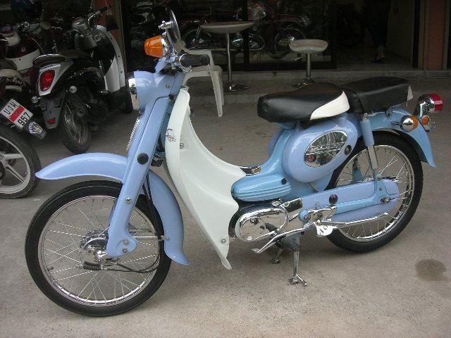 1966 Suzuki U50 50cc. ทะเบียนแท้ เครื่องดี ระบบไฟดี