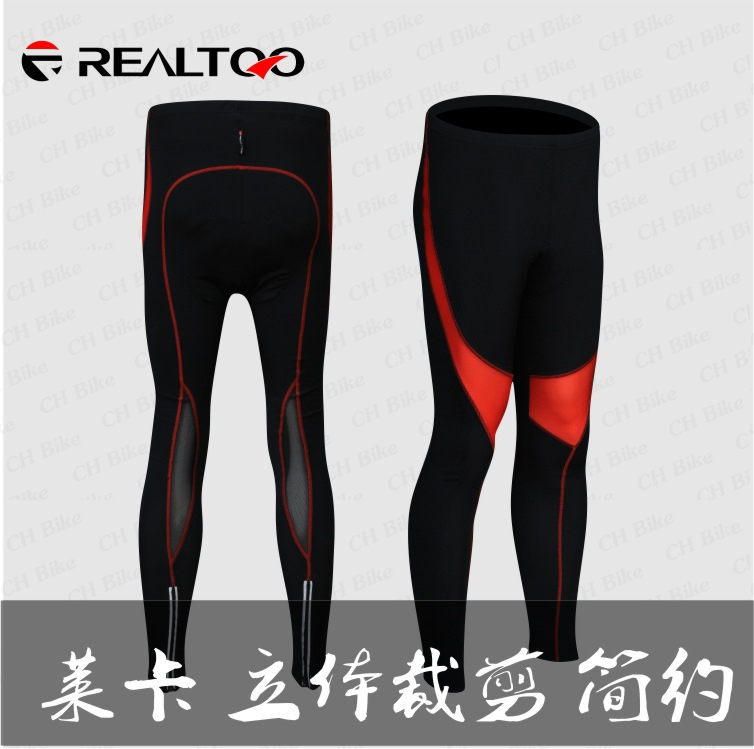 กางเกงปั่นจักรยาน ขายาว เป้าเจล REALTOO