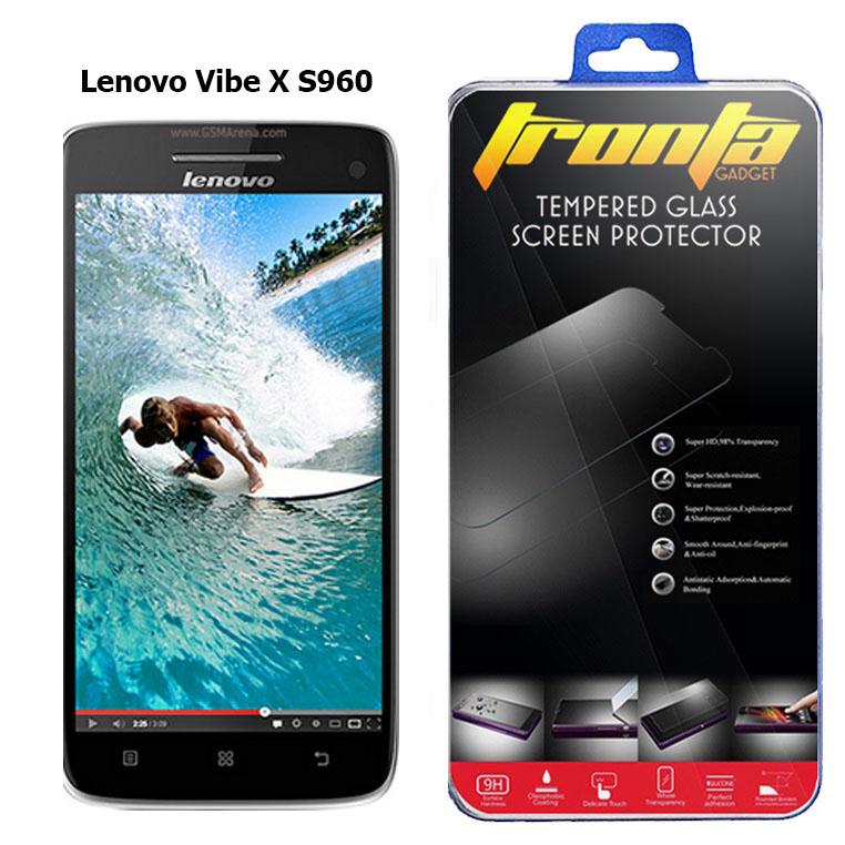Tronta ฟิล์มกันรอยมือถือลีโนโว ฟิล์มกระจกนิรภัยกันกระแทก Lenovo Vibe X S960