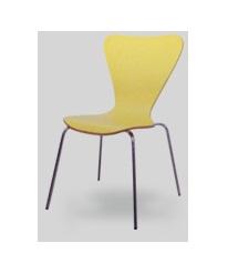เก้าอี้ฟู้ดดคอร์ท ขาเหล็กชุบโครเมี่ยมอย่างดี (คุณภาพระดับแบรนด์ชั้นนำ)