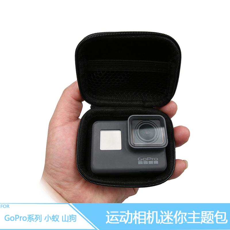 กล่องใส่กล้อง GOPRO Hero 6 5 4 3 3+ขนาดเล็ก-ดำ