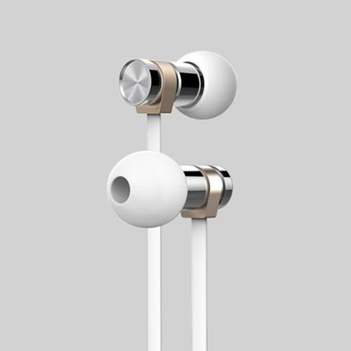 หูฟังพร้อมสมอล์ลทอล์ค ใชได้ทั้ง ios และ Android ปรับ ลดเสียงได้ คุณภาพชัดเจน รุ่น Small Talk RM-565i สีขาว