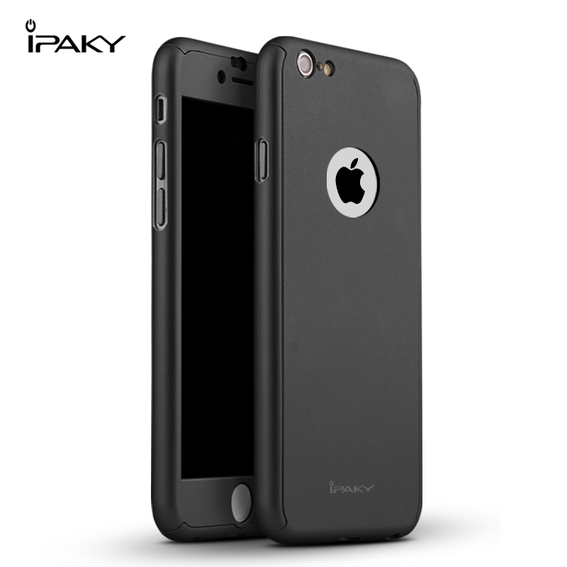 iPaky case 360 degree case iPhone 6 6Plus-Black