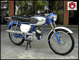 1963 Suzuki K11 80CC. ทะเบียนโอนได้ เครื่องและอะไหล่เปลี่ยนใหม่แท้ ทั้งคัน