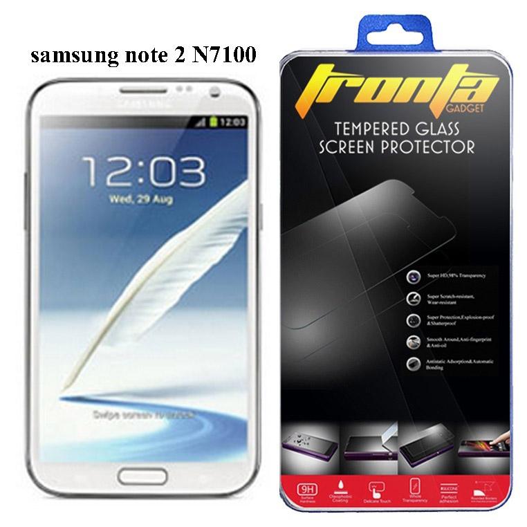 Tronta ฟิล์มกระจกซัมซุงกาแล็คซี่โน๊ตสอง Samsung Galaxy Note2 N7100