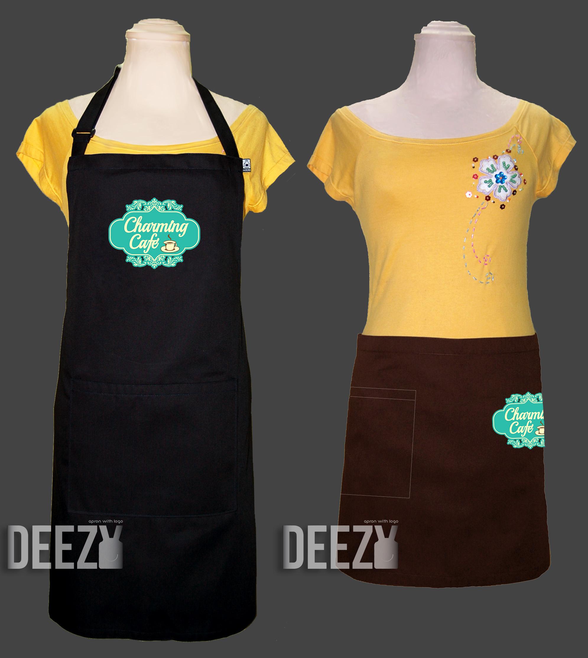 ตัวอย่างเสื้อกันเปื้อนปักโลโก้3