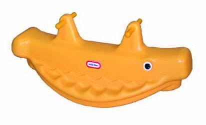 โยกเยกฉลาม SIZE:38X98X44 cm.