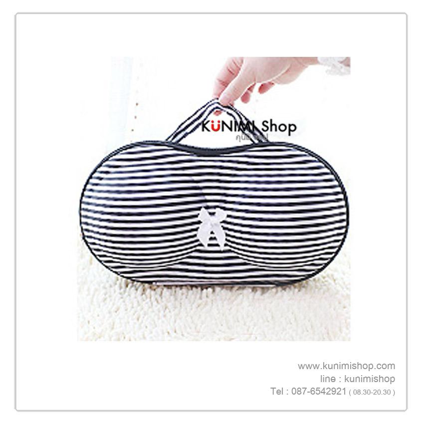 กระเป๋าใส่ชุดชั้นใน การเกงใน สำหรับพกพาเดินทาง ช่วยป้องกันการทับเสียรูปทรงของชุดชั้นใน และทำให้กระเป๋าเดินทางดูเป็นระเบียบ หยิบใช้งานได้สะดวกและรวดเร็วยิ่งขึ้นด้วย สามารถใส่ชุดชั้นในได้ 2-3 ตัว (ขึ้นอยู่กับชนิดของชุดชั้นใน) มีหูหิ้ว ซิบเปิด-ปิด มีให้เลือกหลายสีครับ