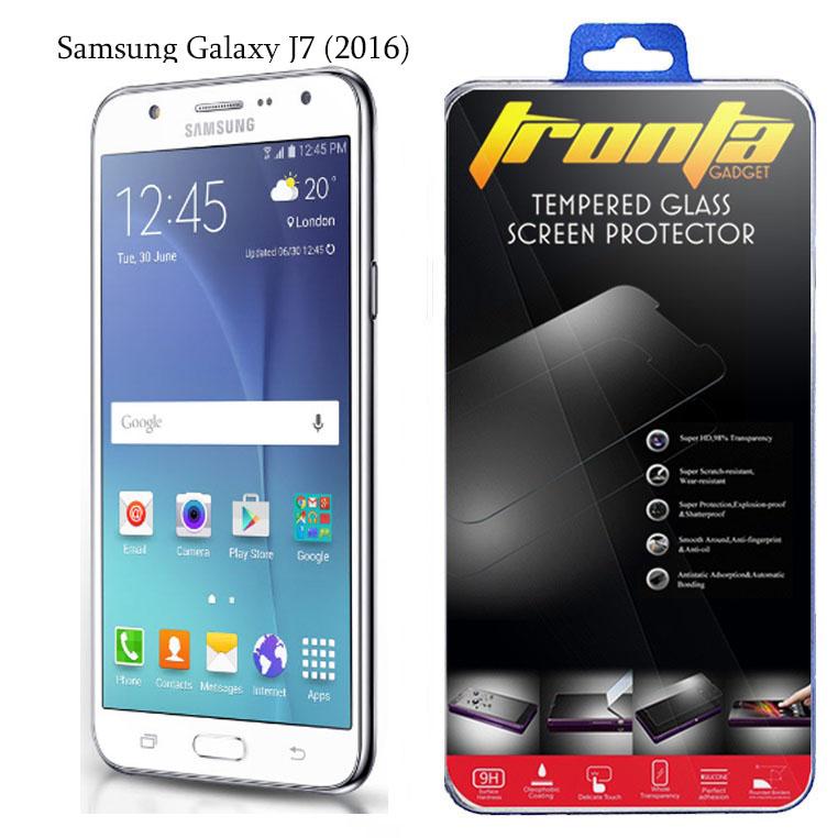 ฟิล์มกระจกนิรภัย ฟิล์มกันรอยมือถือ Samsung J7 2016 ซัมซุงเจเจ็ด