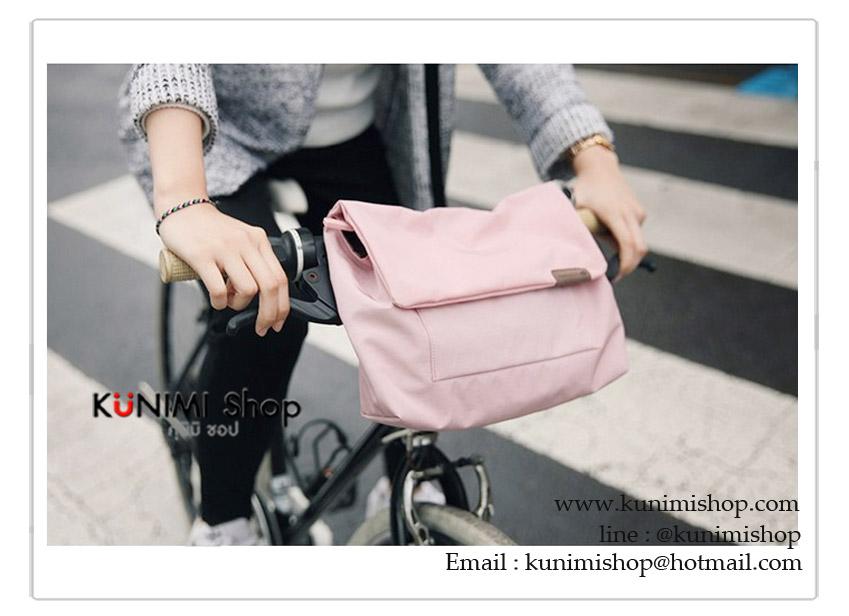 กระเป๋าสะพาย กระเป๋าจัดเก็บระเบียบ ใส่ของใช้ต่าง มีช่องใส่ของมากมาย แยกเป้นชั้นๆ โดยตัวสายสะพาย ปรับขนาดได้ เปิด-ปิด ด้วยซิบ