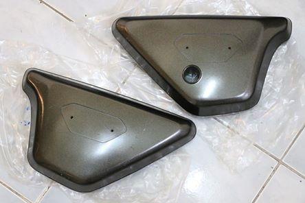 ฝากระเป๋า ซ้าย ขวา ใหม่ เก่าเก็บ ไม่แท้ Kawasaki G7
